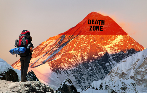 """Surviving the Business Transformation """"Death Zone"""""""