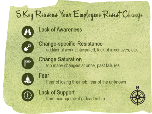 reasons employees resist change